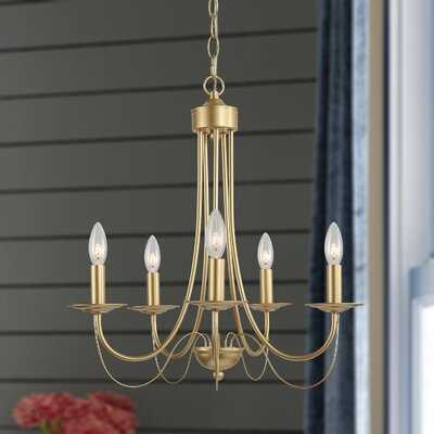Ohanesian 5-Light Candle Style Classic / Traditional Chandelier - Wayfair