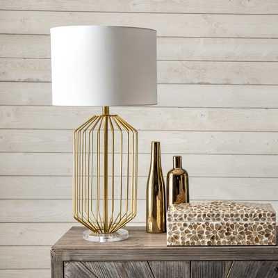 """Deltona 29"""" Iron Table Lamp - Loom 23"""