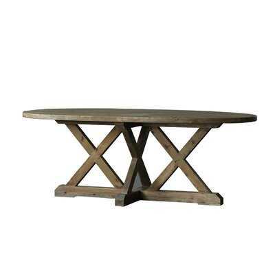 Kraft Fir Solid Wood Dining Table - Wayfair