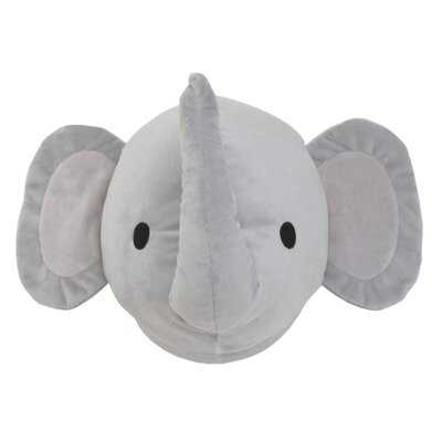 Boger Elephant Plush Head Wall Hanging - Wayfair