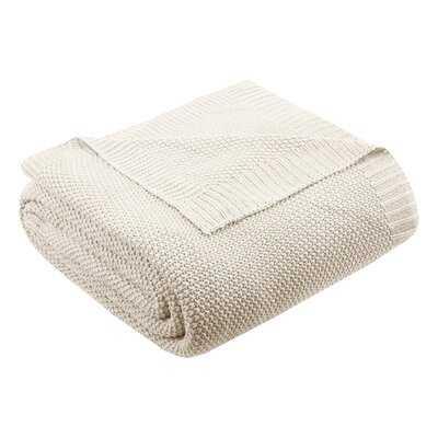 Elliott Knit Blanket - AllModern
