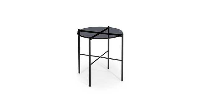 Silicus Smoke Side Table - Article