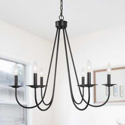Newberg 6 - Light Candle Style Empire Chandelier - Wayfair