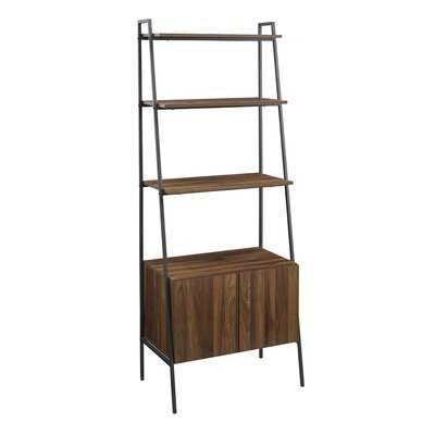 Diego Ladder Bookcase_Dark Walnut - Wayfair