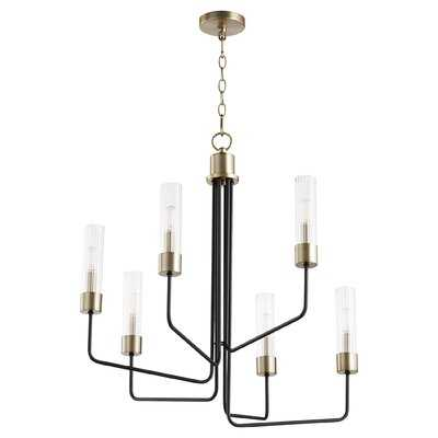 6 - Light Candle Style Classic / Traditional Chandelier - Wayfair