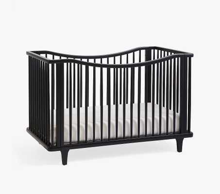 Dawson Convertible Crib, Black, In-Home - Pottery Barn Kids