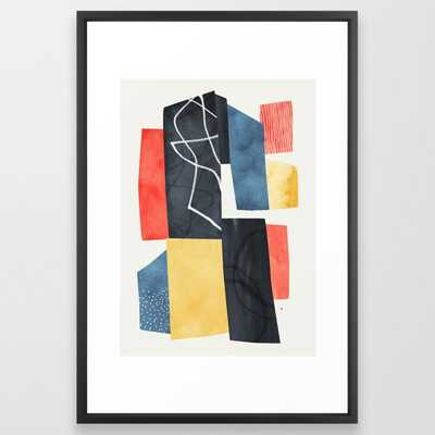 Gateway Framed Art Print by Tracie Andrews - Vector Black - LARGE (Gallery)-26x38 - Society6