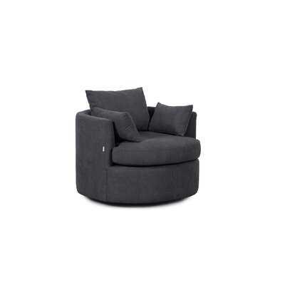 Dazhaun Swivel Barrel Chair - Wayfair