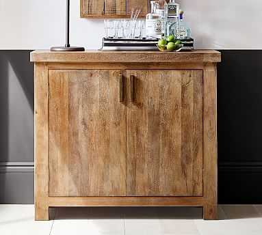 Reed Buffet, Antique Umber - Pottery Barn