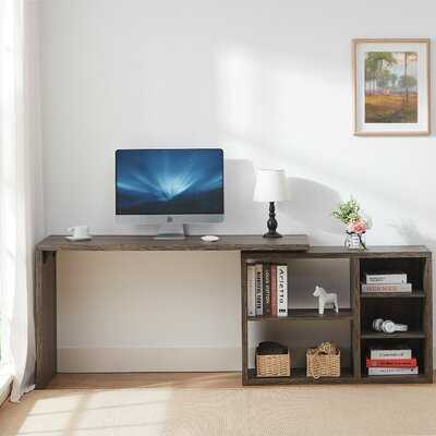 Lorenco Reversible L- Shape Desk - Wayfair