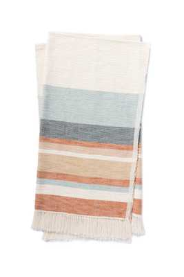 """LYLA T1043 BLUE / MULTI 4'-2"""" x 5' - Magnolia Home by Joana Gaines Crafted by Loloi Rugs"""