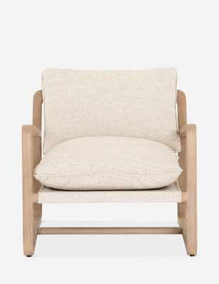 Nunelle Indoor/Outdoor Chair, Faye Sand - Lulu and Georgia