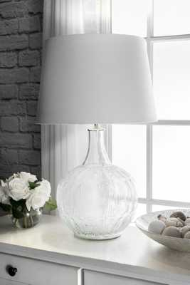 "Margate 26"" Glass Table Lamp - Loom 23"