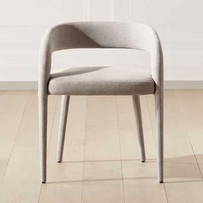 Lisette Grey Dining Chair - CB2
