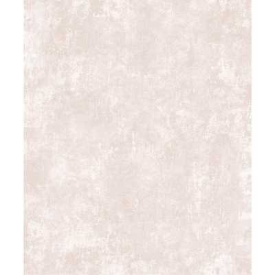 Brewster 8 in. x 10 in. Axel Blush Patina Texture SAMPLE, Pink - Home Depot