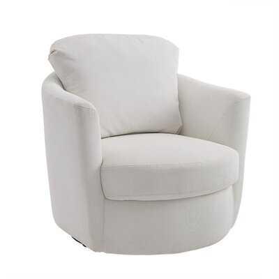 Fabric Swivel Accent Chair - Wayfair