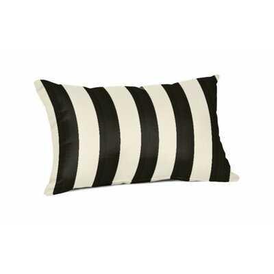 Crawley Sunbrella Indoor/Outdoor Striped Lumbar Pillow Cover & Insert - Wayfair