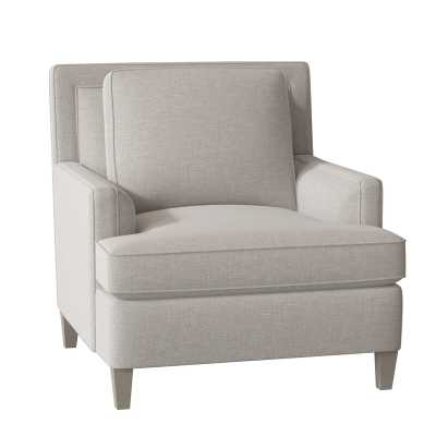 Bernhardt Addison Armchair Body Fabric: 1029-010, Leg Color: Portobello - Perigold