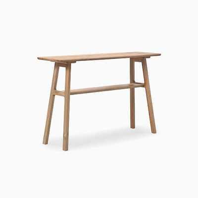 Aiken Console Table, Oak - West Elm