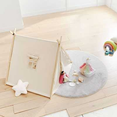 Collapsible Play Tent, Natural - West Elm