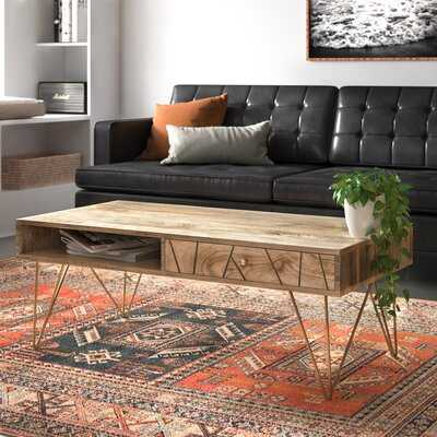Elisabeth Trestle Coffee Table - AllModern