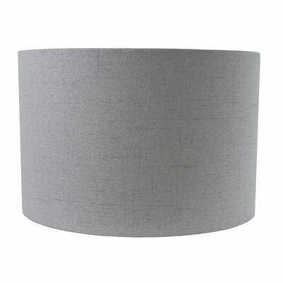 """8"""" H x 12"""" W Linen Drum Lamp Shade ( Spider ) - Wayfair"""