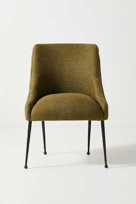 Forged Iron Elowen Chair By Anthropologie in Green - Anthropologie