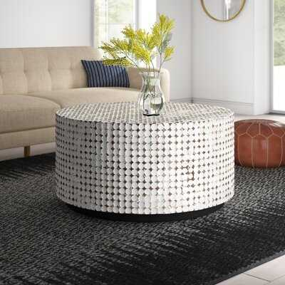 Sherlyn Drum Coffee Table - Wayfair