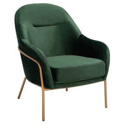 "Anderle 26.25"" W Velvet Armchair - Wayfair"