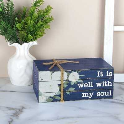 It is Well with My Soul Decorative Plaque - Wayfair