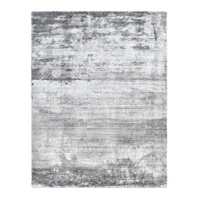 Solo Rugs Ira Abstract Gray Area Rug Rug Size: Rectangle 8' W x 10' L - Perigold