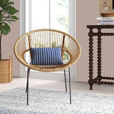 "Ashley 20"" Papasan Chair - Wayfair"
