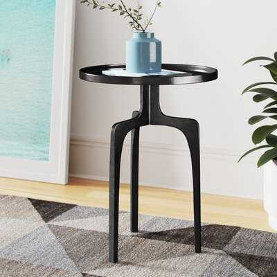 Raymond Tray Top Pedestal End Table - Wayfair