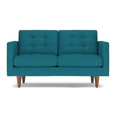 "Lexington Apartment Size Sofa - Biloxi Blue QUICK SHIP / Loveseat - 62""w x 40""d x 33""h - Apt2B"