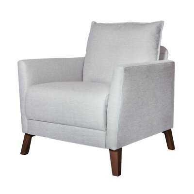 32'' W Tufted Polyester Armchair - Wayfair