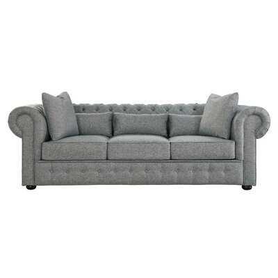 "Waltman Chesterfield 98.5"" Rolled Arm Sofa - Wayfair"