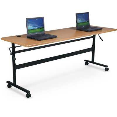 Gainesboro Economy Flipper Training Table with Wheels - Wayfair