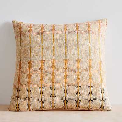 "Silk Hourglass Pillow Cover, 20""x20"", Multi - West Elm"