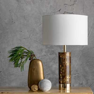 "Corbin 23"" Wood Table Lamp - Loom 23"