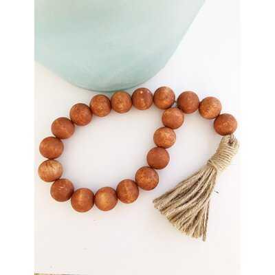 Rustic Orange Farmhouse Beads-Small Beads - Wayfair