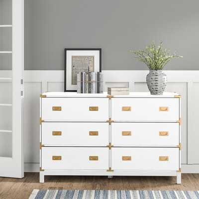Creedmoor 6 Drawer Double Dresser - Birch Lane