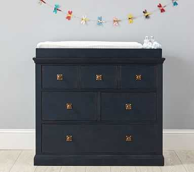 Charlie Dresser & Topper Set, Weathered Navy, Flat Rate - Pottery Barn Kids