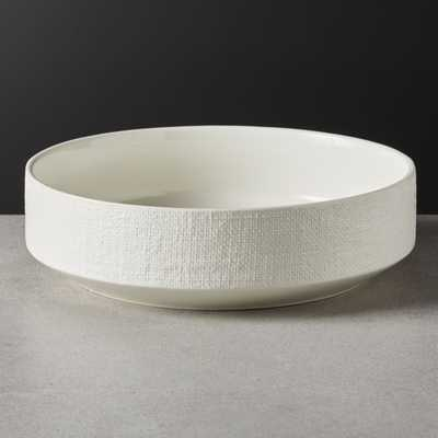 Millye Ivory Serving Bowl - CB2