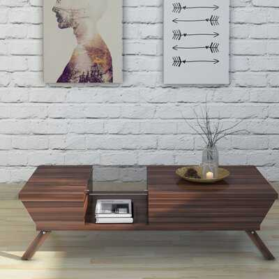 Soto Coffee Table with Tray Top - Wayfair