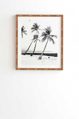 """Island Time by Bree Madden - Framed Wall Art Bamboo 19"""" x 22.4"""" - Wander Print Co."""