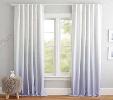 """Printed Ombre Blackout Curtain, 96"""", Lavender - Pottery Barn Kids"""