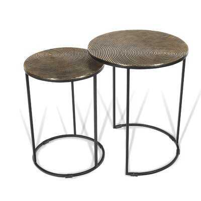 Pickney C Table Nesting Tables - Wayfair