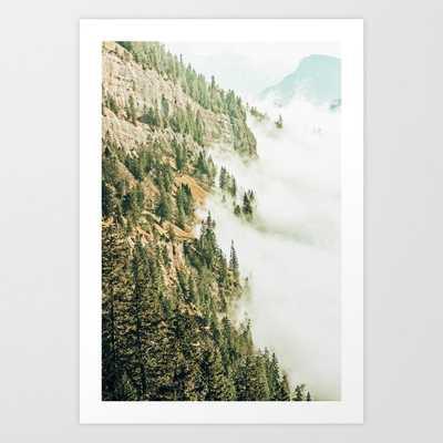 Hills & Fog #photography #nature Art Print by 83 Orangesa(r) Art Shop - LARGE - Society6