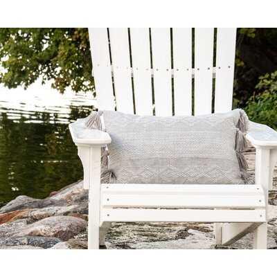 Hand Woven Decorative Outdoor Rectangular Pillow Cover & Insert - Wayfair