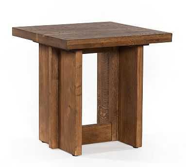 Hearst End Table, Dark Smoked Oak - Pottery Barn